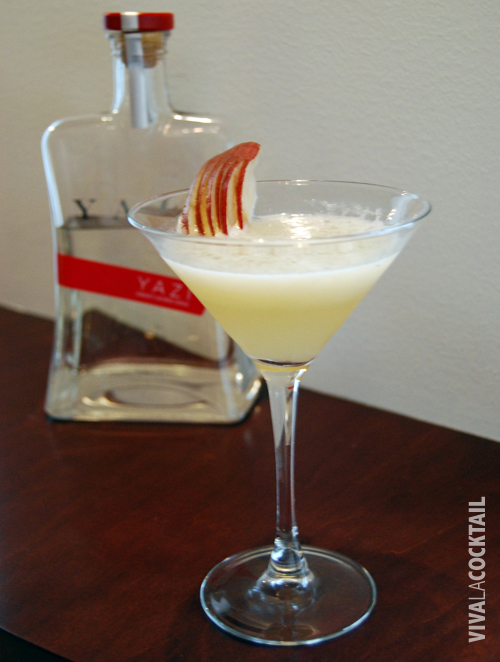 viva la cocktail Yazi ginger peartini1 Yazi Ginger Peartini